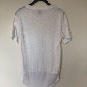 J. Crew Tops - J.Crew White Pocket T-shirt Bodysuit M